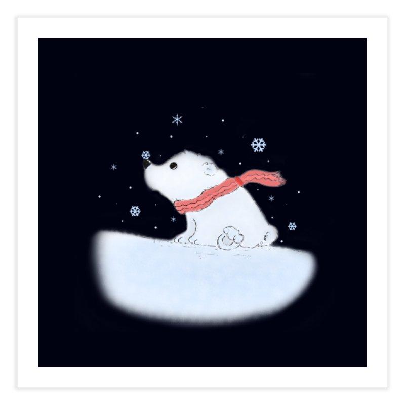 Polar babe Home Fine Art Print by Hue Hub