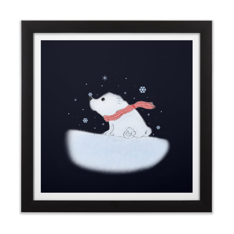 Polar babe Home Framed Fine Art Print by Hue Hub