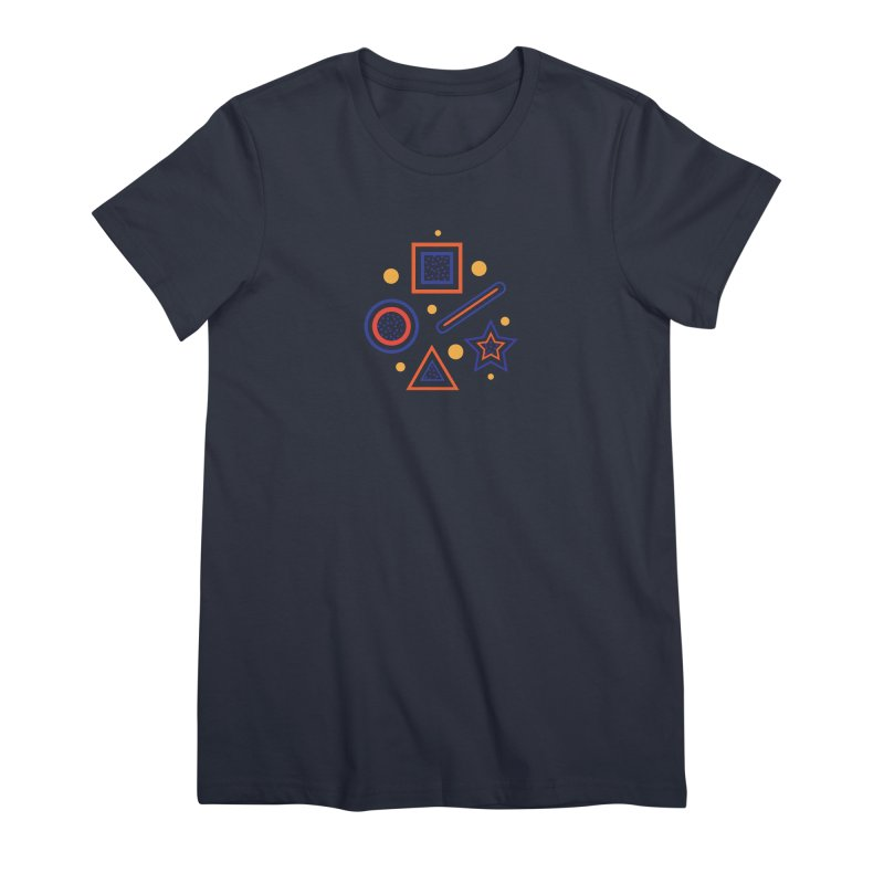 Geometry Women's Premium T-Shirt by Hue Hub