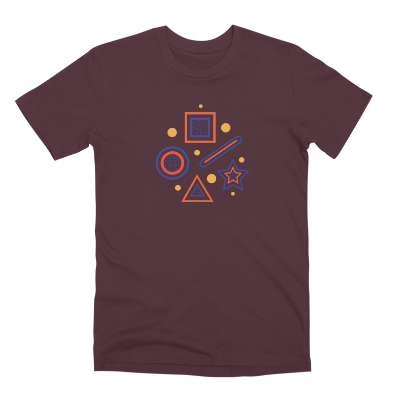Geometry Men's T-Shirt by Hue Hub