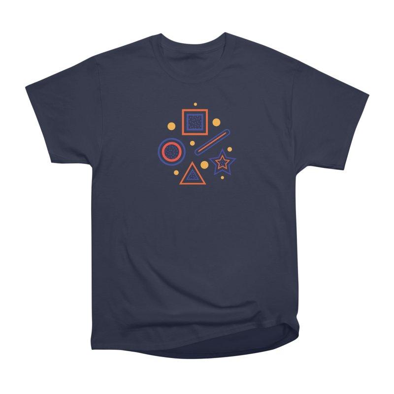 Geometry Men's Heavyweight T-Shirt by Hue Hub