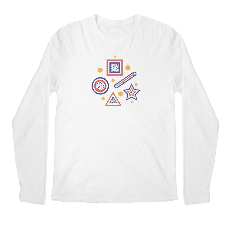 Geometry Men's Regular Longsleeve T-Shirt by Hue Hub