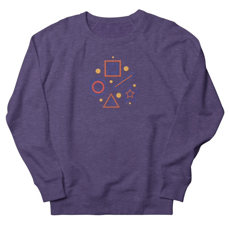 Geometry Men's French Terry Sweatshirt by Hue Hub