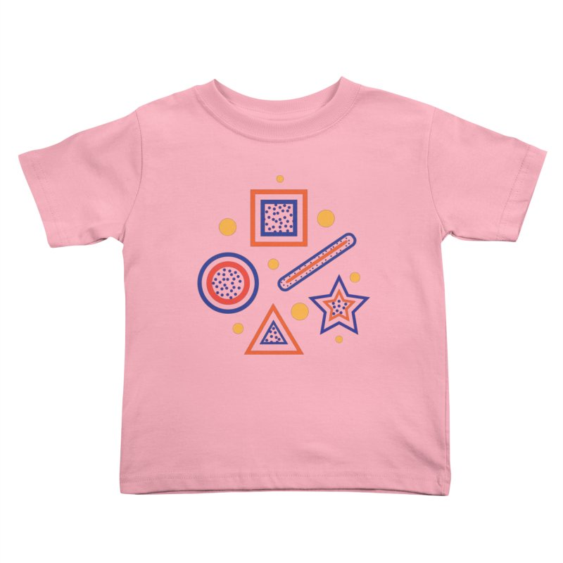 Geometry Kids Toddler T-Shirt by Hue Hub