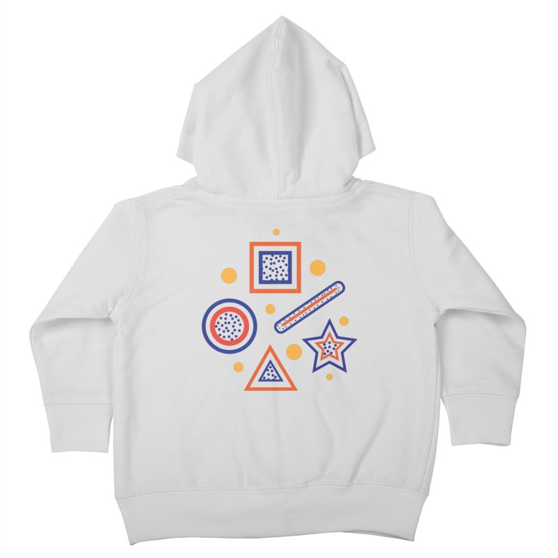Geometry Kids Toddler Zip-Up Hoody by Hue Hub