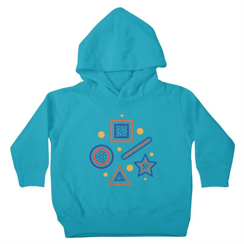 Geometry Kids Toddler Pullover Hoody by Hue Hub