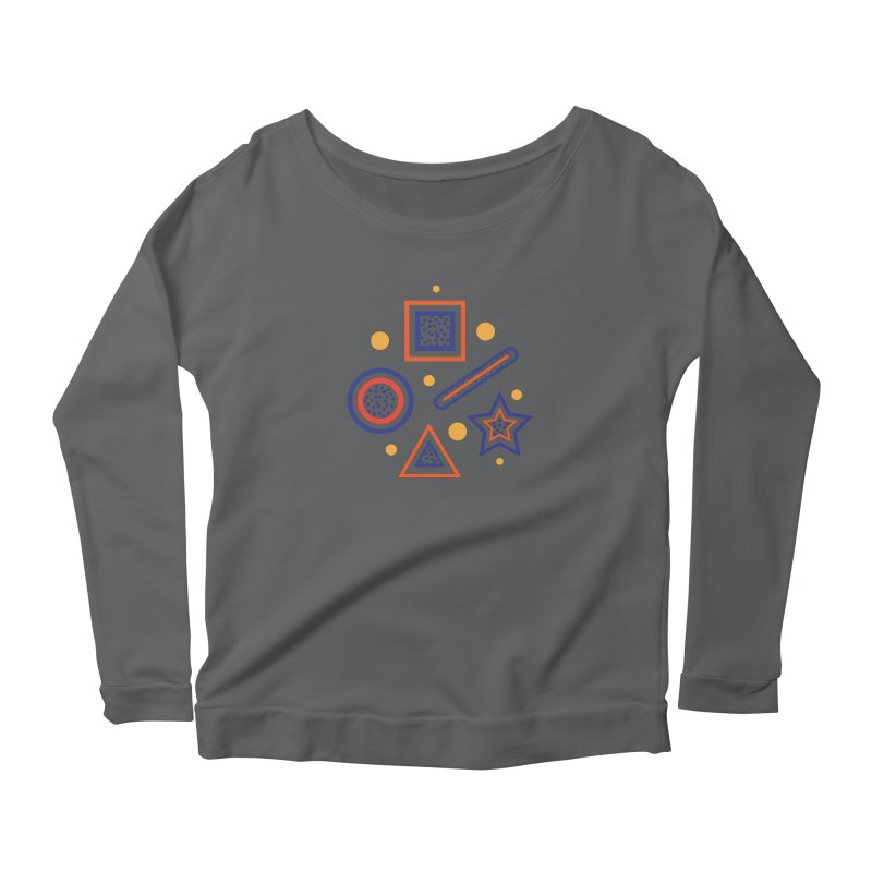 Geometry Women's Longsleeve T-Shirt by Hue Hub