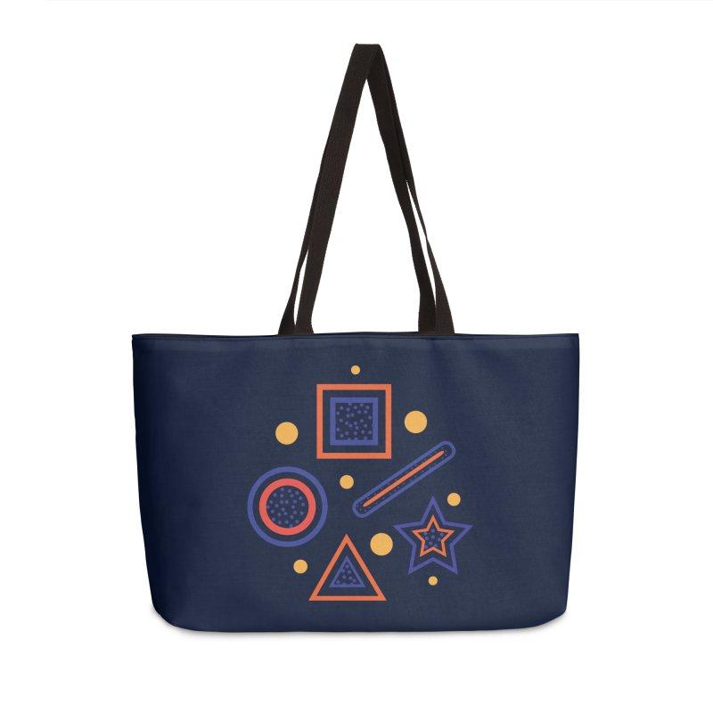 Geometry Accessories Weekender Bag Bag by Hue Hub