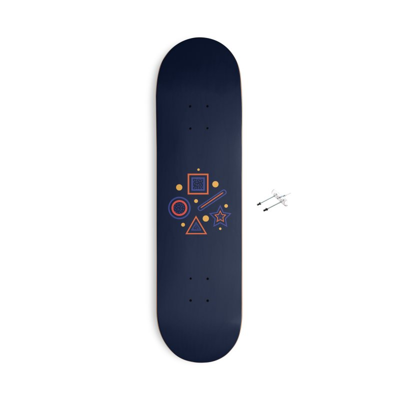 Geometry Accessories With Hanging Hardware Skateboard by Hue Hub
