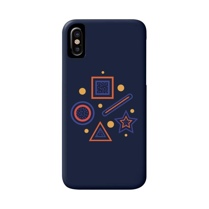 Geometry in iPhone X / XS Phone Case Slim by Hue Hub