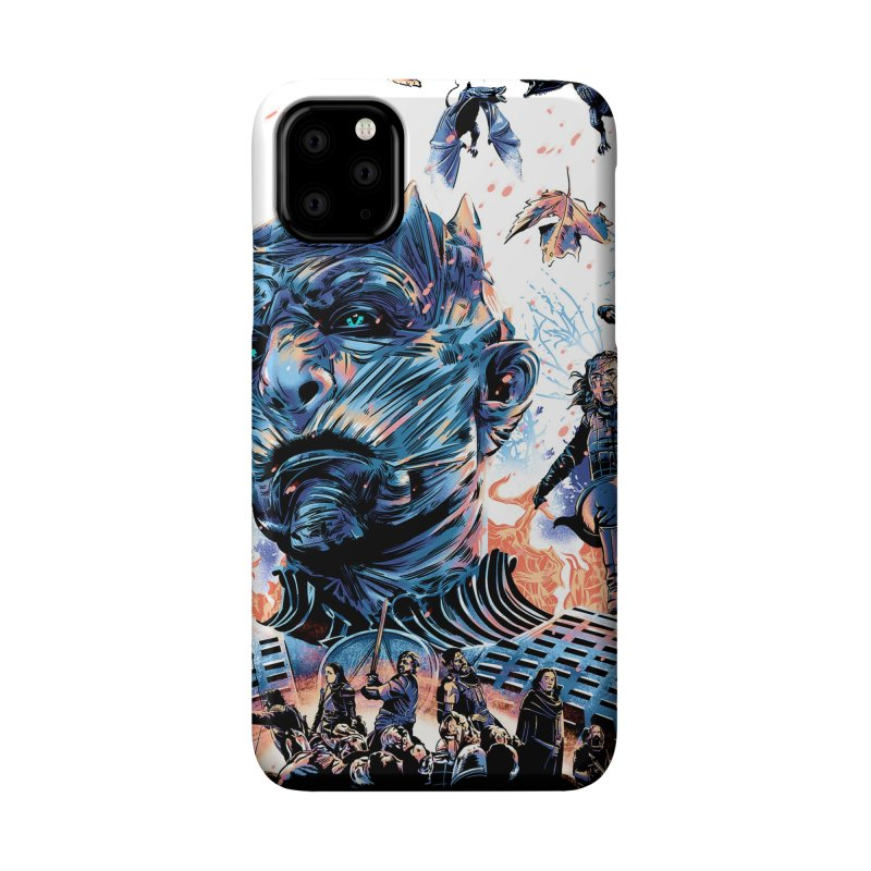 The Long Night Accessories Phone Case by Huevart's Artist Shop