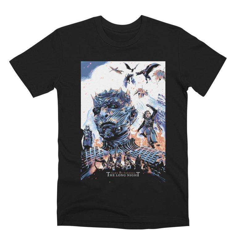 The Long Night Men's Premium T-Shirt by Huevart's Artist Shop