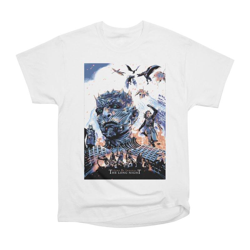 The Long Night Men's Heavyweight T-Shirt by Huevart's Artist Shop
