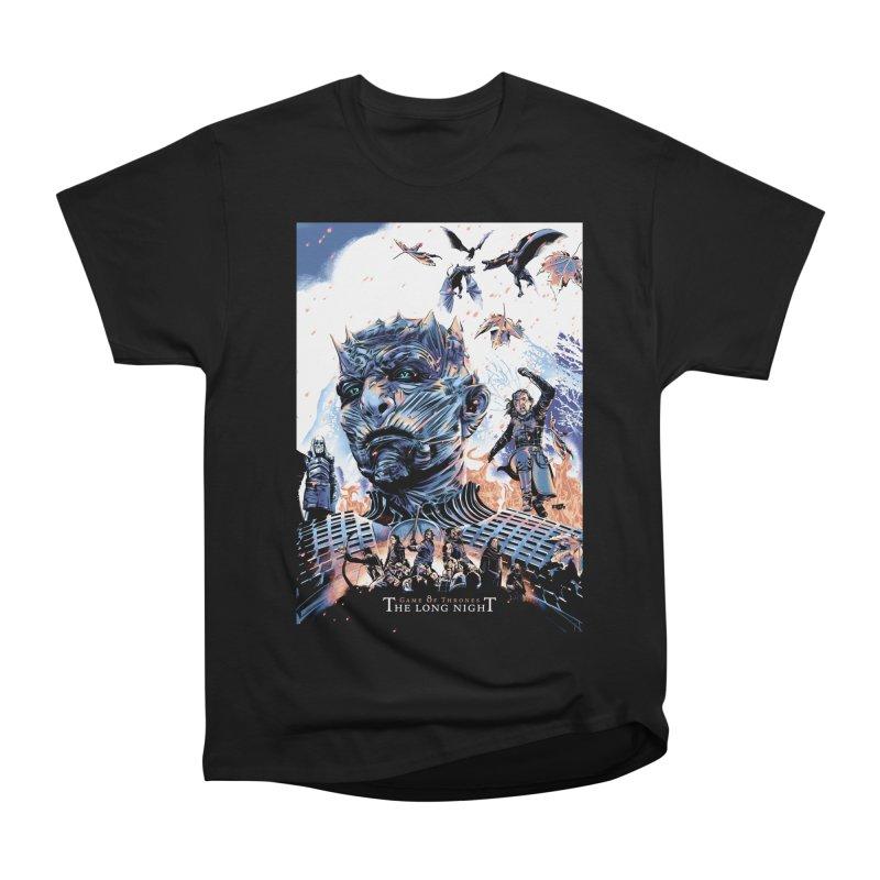 The Long Night Women's Heavyweight Unisex T-Shirt by Huevart's Artist Shop