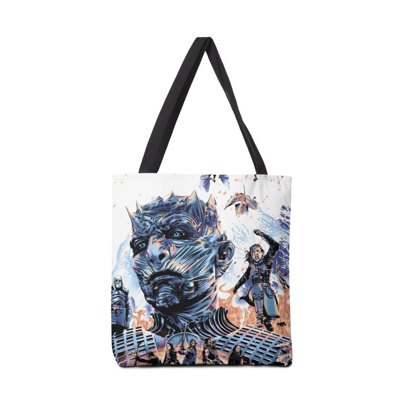 The Long Night Accessories Tote Bag Bag by Huevart's Artist Shop