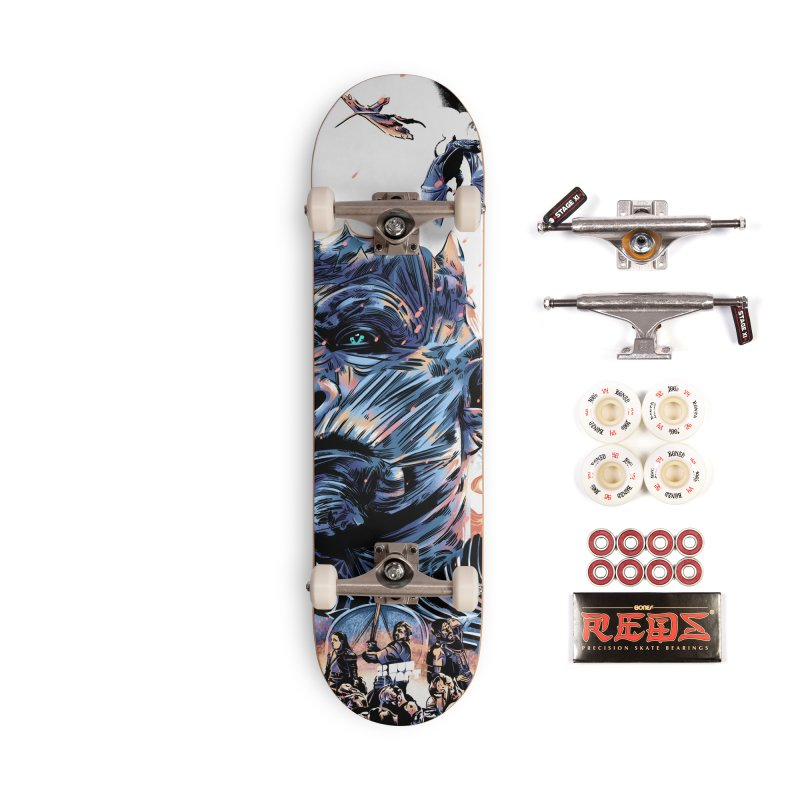 The Long Night Accessories Complete - Pro Skateboard by Huevart's Artist Shop