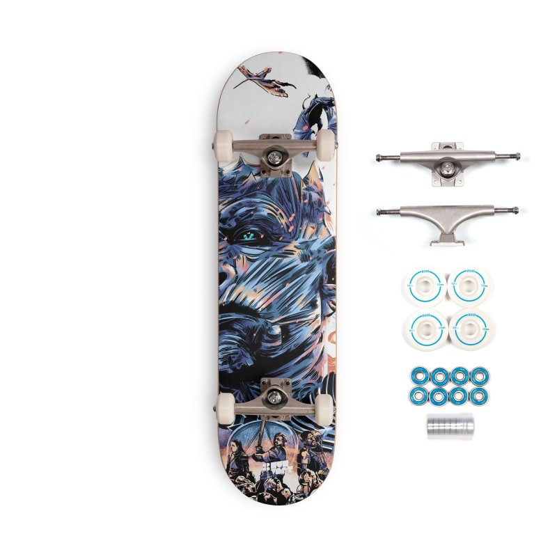 The Long Night Accessories Complete - Basic Skateboard by Huevart's Artist Shop
