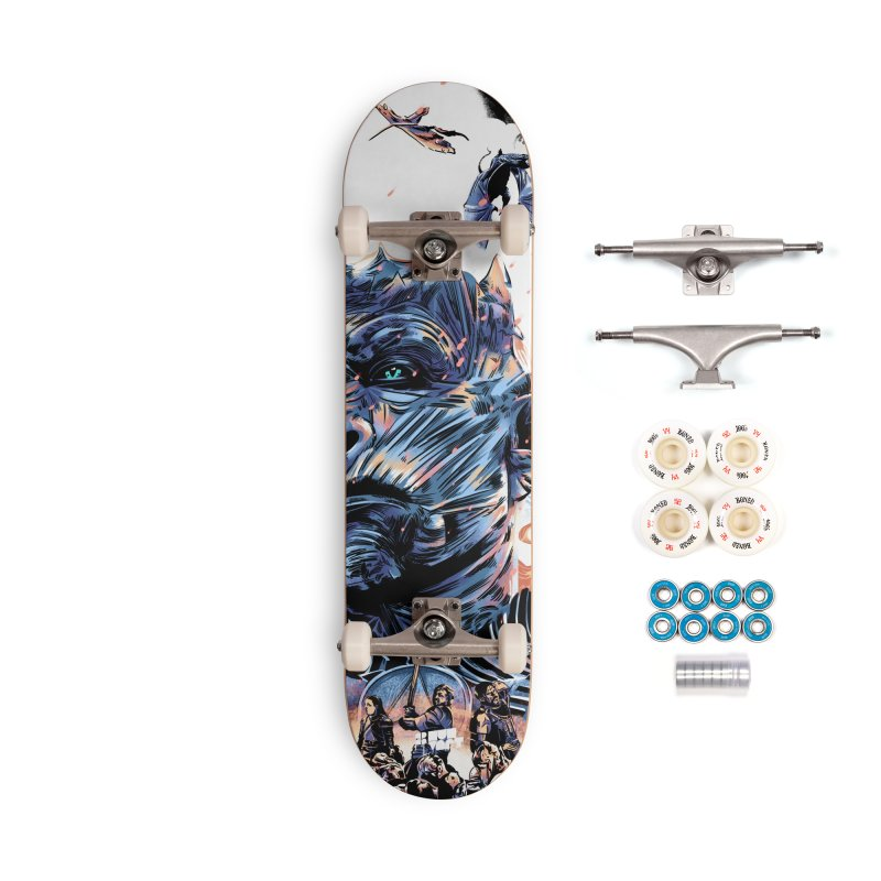 The Long Night Accessories Complete - Premium Skateboard by Huevart's Artist Shop