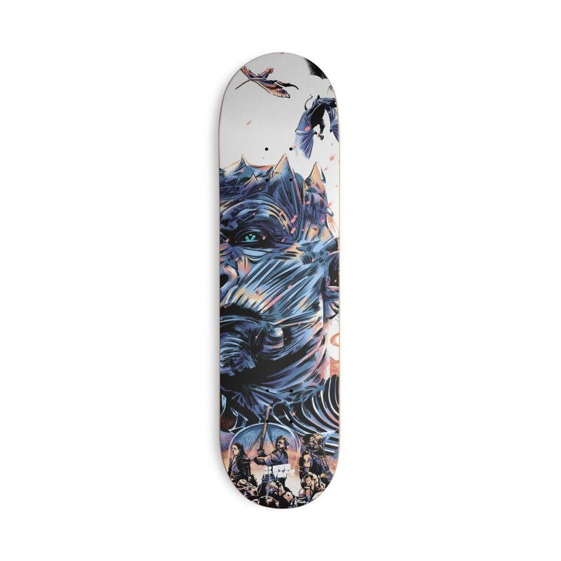 The Long Night Accessories Deck Only Skateboard by Huevart's Artist Shop