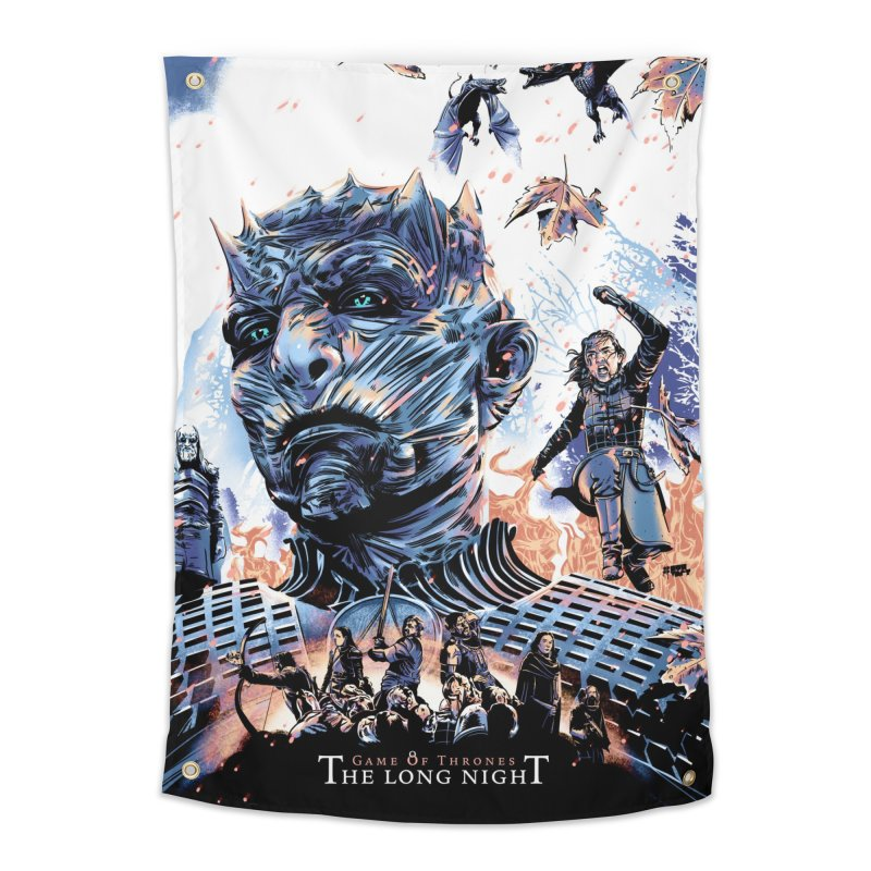 The Long Night Home Tapestry by Huevart's Artist Shop