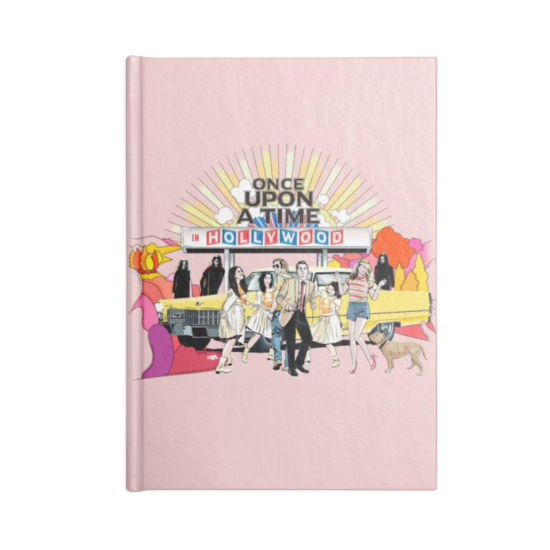 Once Upon A Time Accessories Lined Journal Notebook by Huevart's Artist Shop