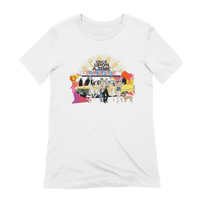 Once Upon A Time Women's Extra Soft T-Shirt by Huevart's Artist Shop