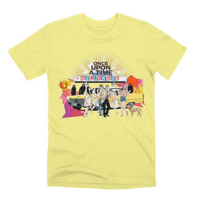 Once Upon A Time Men's Premium T-Shirt by Huevart's Artist Shop