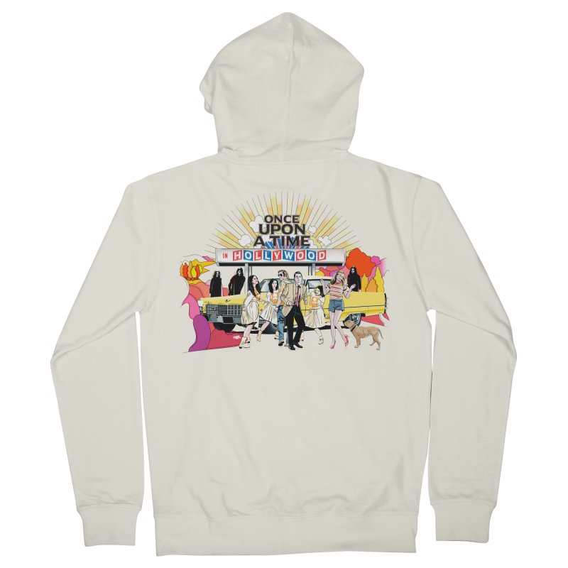 Once Upon A Time Men's French Terry Zip-Up Hoody by Huevart's Artist Shop