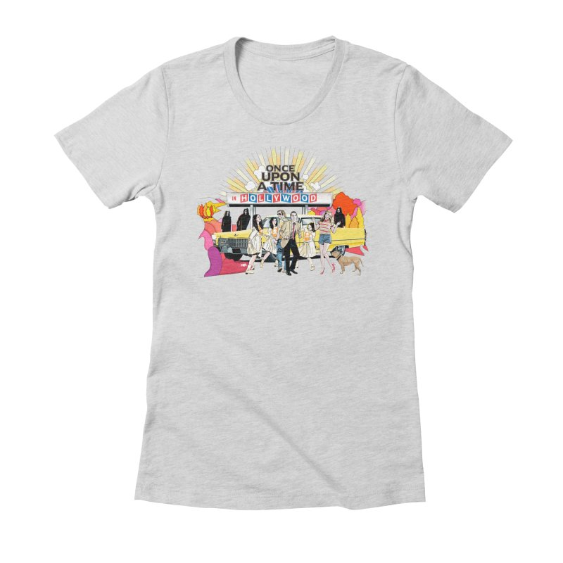 Once Upon A Time Women's Fitted T-Shirt by Huevart's Artist Shop