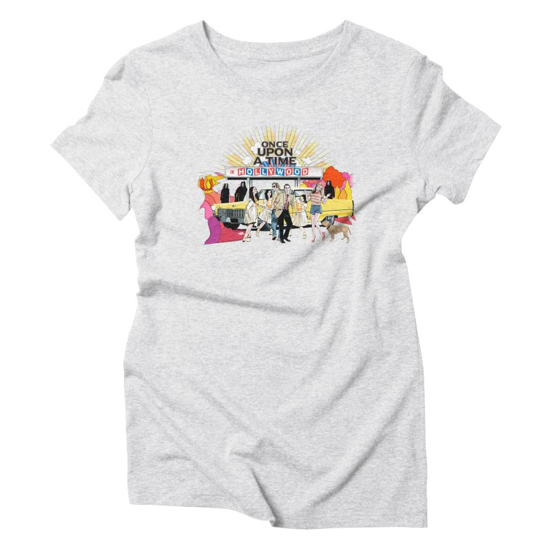 Once Upon A Time Women's Triblend T-Shirt by Huevart's Artist Shop