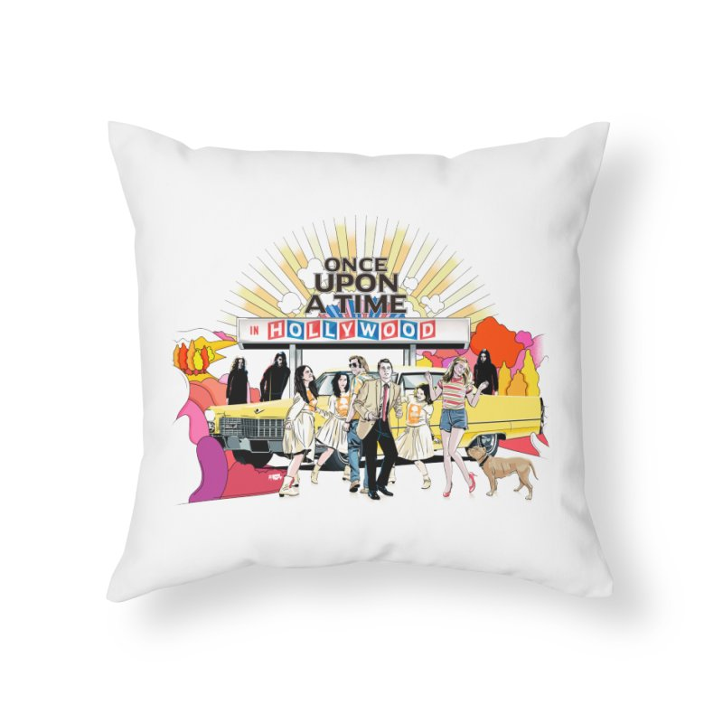 Once Upon A Time Home Throw Pillow by Huevart's Artist Shop