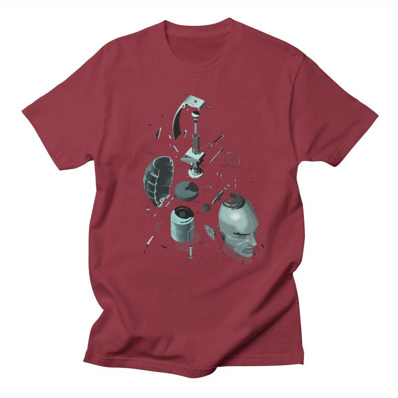 GrenaDude Men's T-shirt by Huevart's Artist Shop
