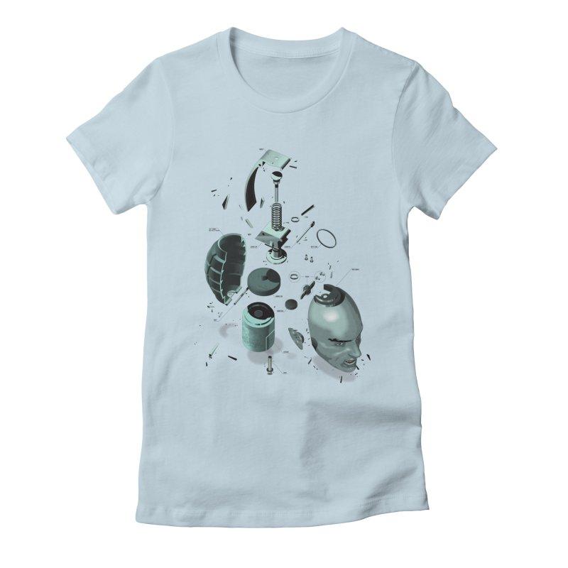 GrenaDude Women's Fitted T-Shirt by Huevart's Artist Shop