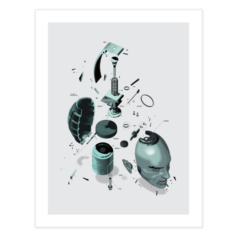 GrenaDude Home Fine Art Print by Huevart's Artist Shop