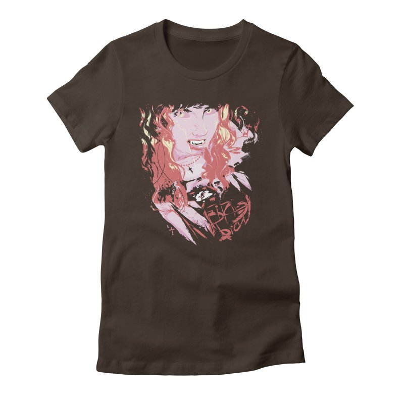 B-Brew Women's Fitted T-Shirt by Huevart's Artist Shop