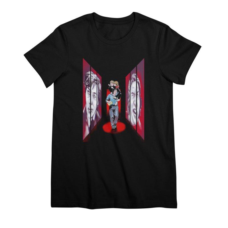 Couple Women's Premium T-Shirt by Huevart's Artist Shop