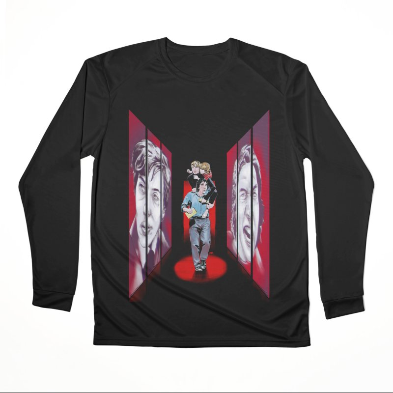 Couple Men's Performance Longsleeve T-Shirt by Huevart's Artist Shop