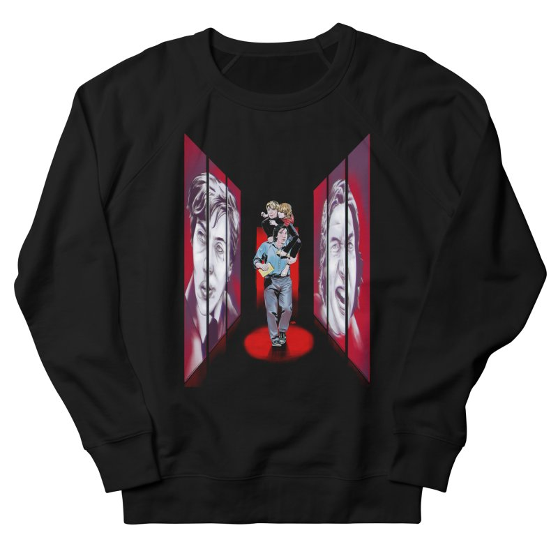 Couple Women's French Terry Sweatshirt by Huevart's Artist Shop