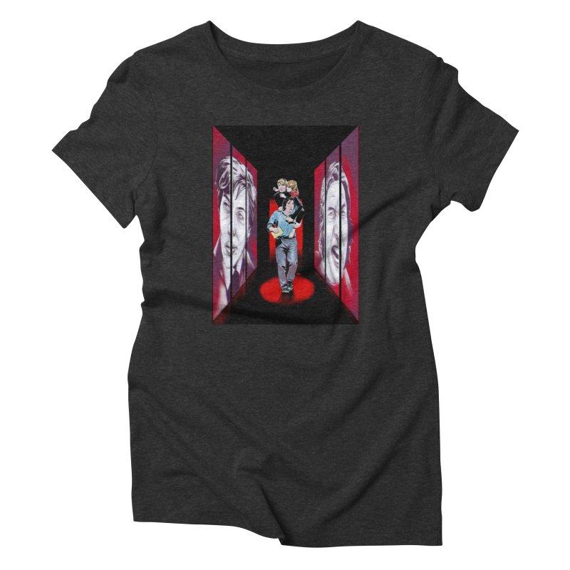 Couple Women's T-Shirt by Huevart's Artist Shop