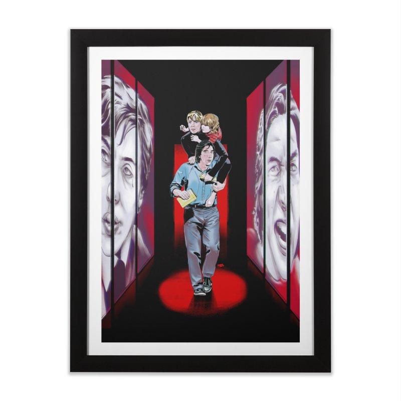 Couple Home Framed Fine Art Print by Huevart's Artist Shop