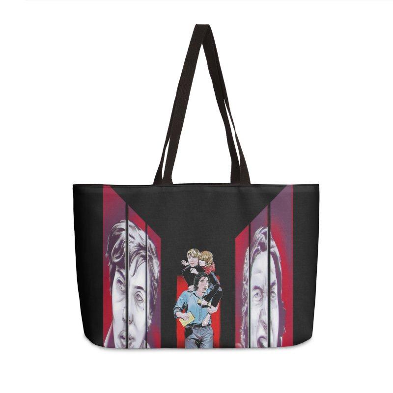 Couple Accessories Weekender Bag Bag by Huevart's Artist Shop