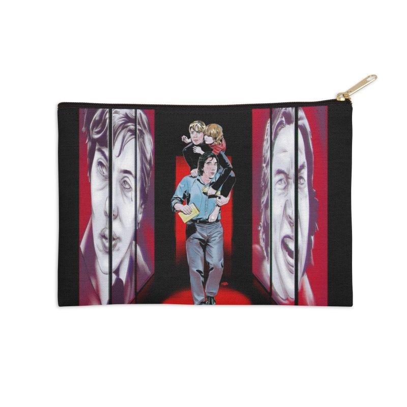 Couple Accessories Zip Pouch by Huevart's Artist Shop