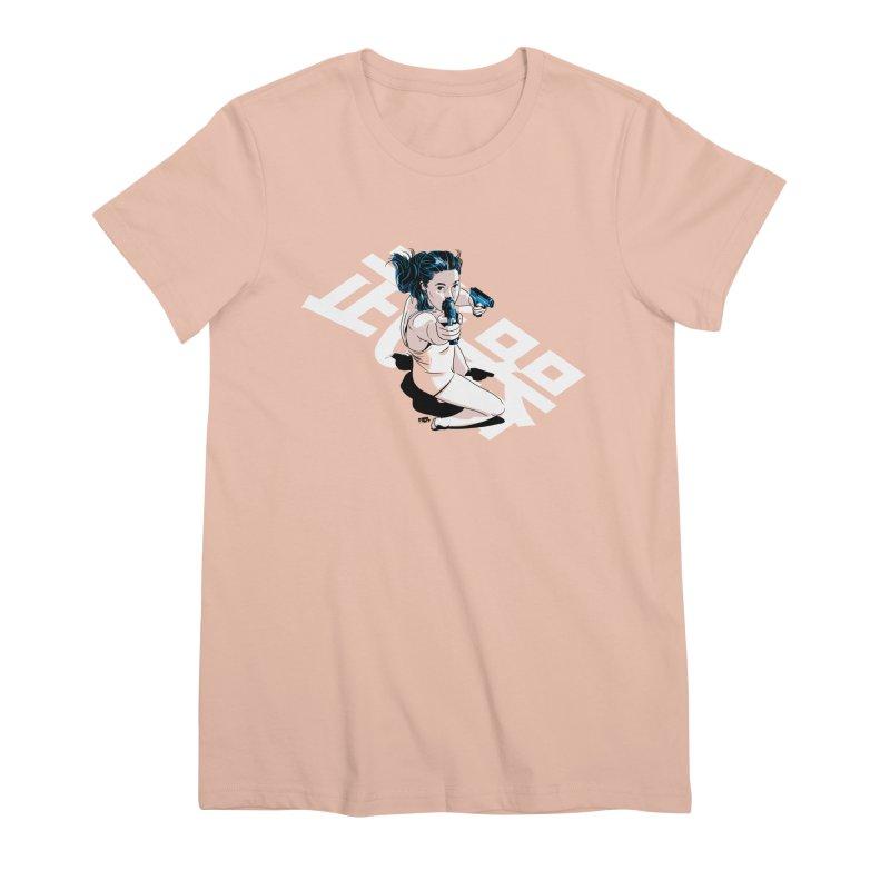 Lethal Weapon Women's Premium T-Shirt by Huevart's Artist Shop
