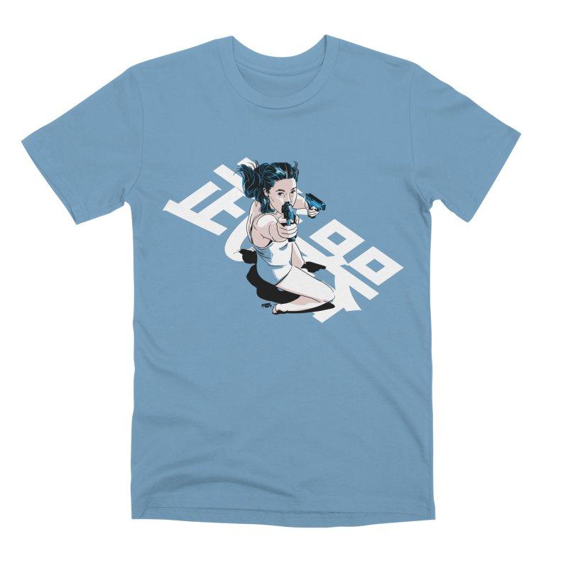 Lethal Weapon Men's Premium T-Shirt by Huevart's Artist Shop