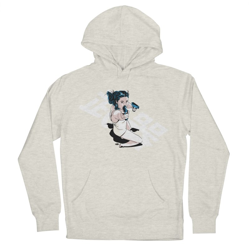 Lethal Weapon Women's French Terry Pullover Hoody by Huevart's Artist Shop