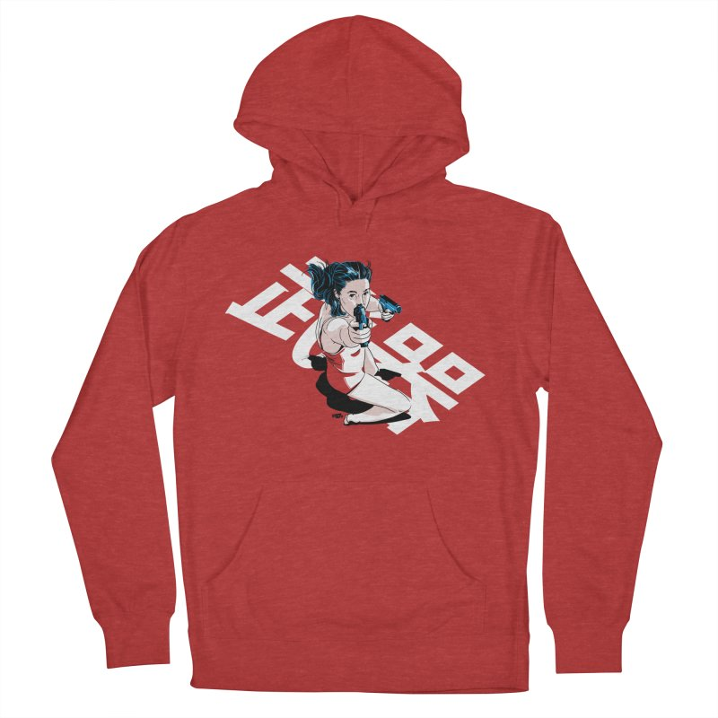 Lethal Weapon Men's French Terry Pullover Hoody by Huevart's Artist Shop