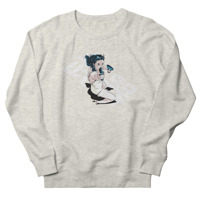 Lethal Weapon Women's French Terry Sweatshirt by Huevart's Artist Shop