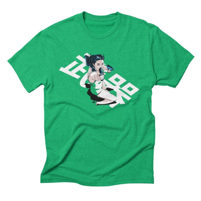 Lethal Weapon Men's Triblend T-Shirt by Huevart's Artist Shop