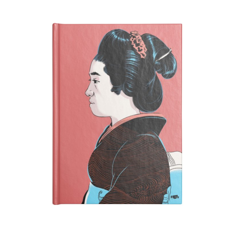 Waves Accessories Lined Journal Notebook by Huevart's Artist Shop
