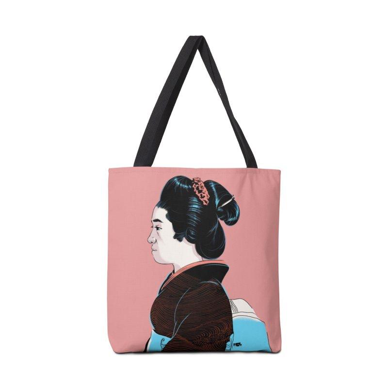 Waves Accessories Tote Bag Bag by Huevart's Artist Shop